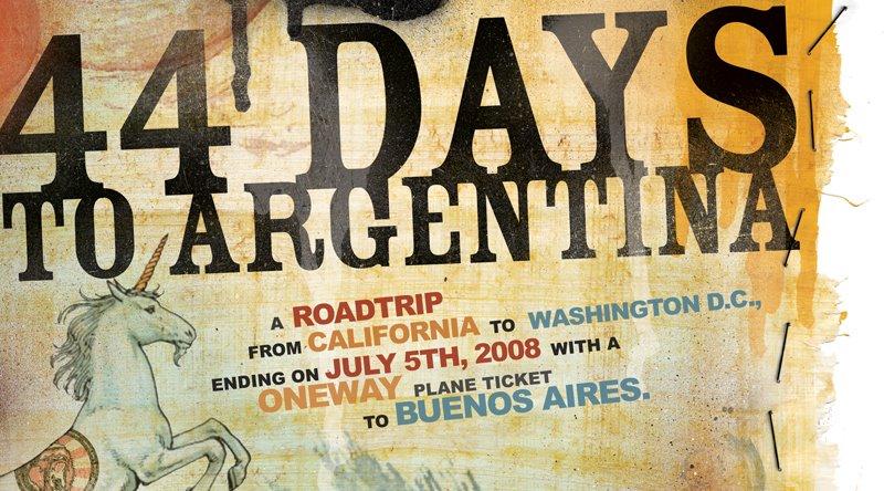 44 DAYS TO ARGENTINA