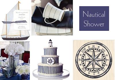 Nautical Wedding Ideas on Entertaining   Event Ideas   Inspiration  Classic Nautical Shower