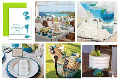 Wedding Couple Shower Ideas on Ideas   Inspiration  Wedding Wednesday   Teal   Lime Bridal Shower