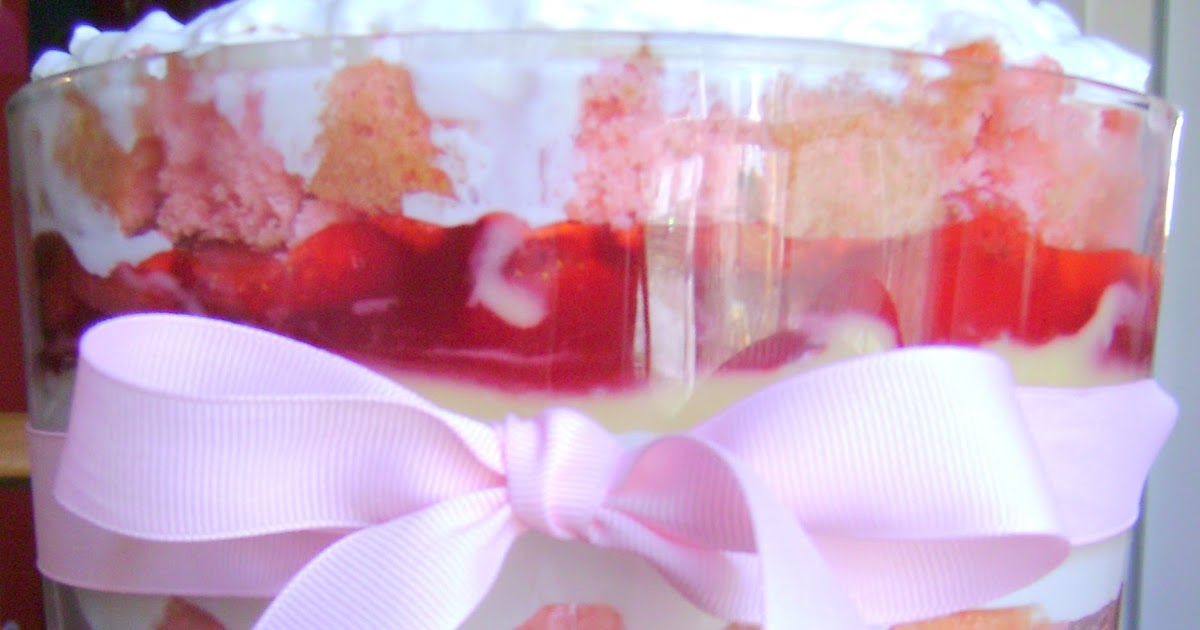How To Do Almost Anything Strawberry Cheesecake Trifle Recipe