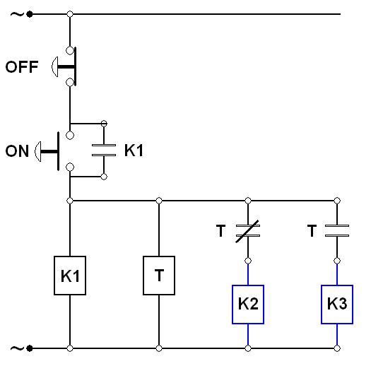star delta wiring connection diagram