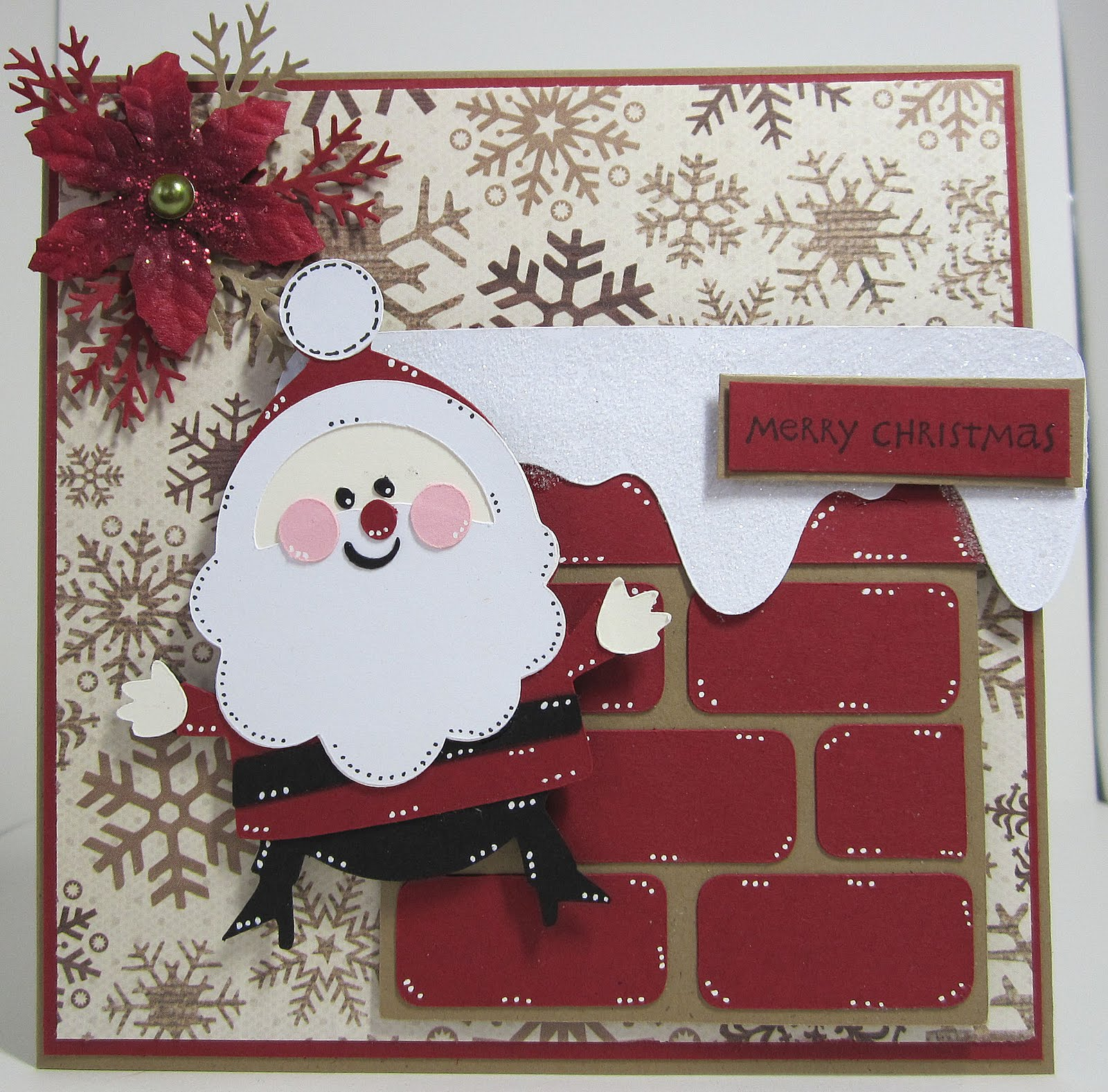 Ever After Papercrafts: Two More Christmas Cricut Cards