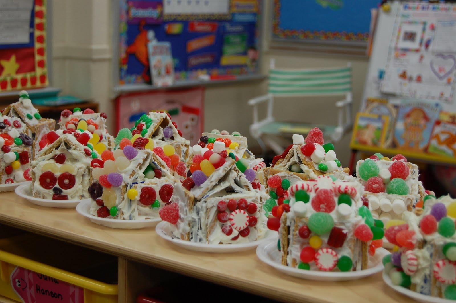 Sjs Kindergarten Gingerbread Houses