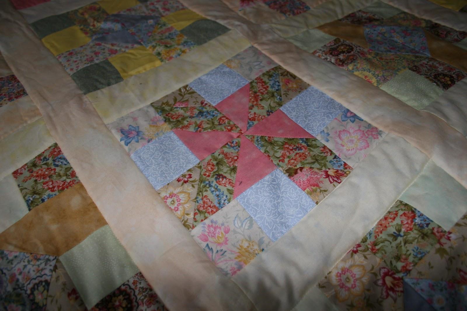 Lydia S Blog Windmills Patchwork Quilt