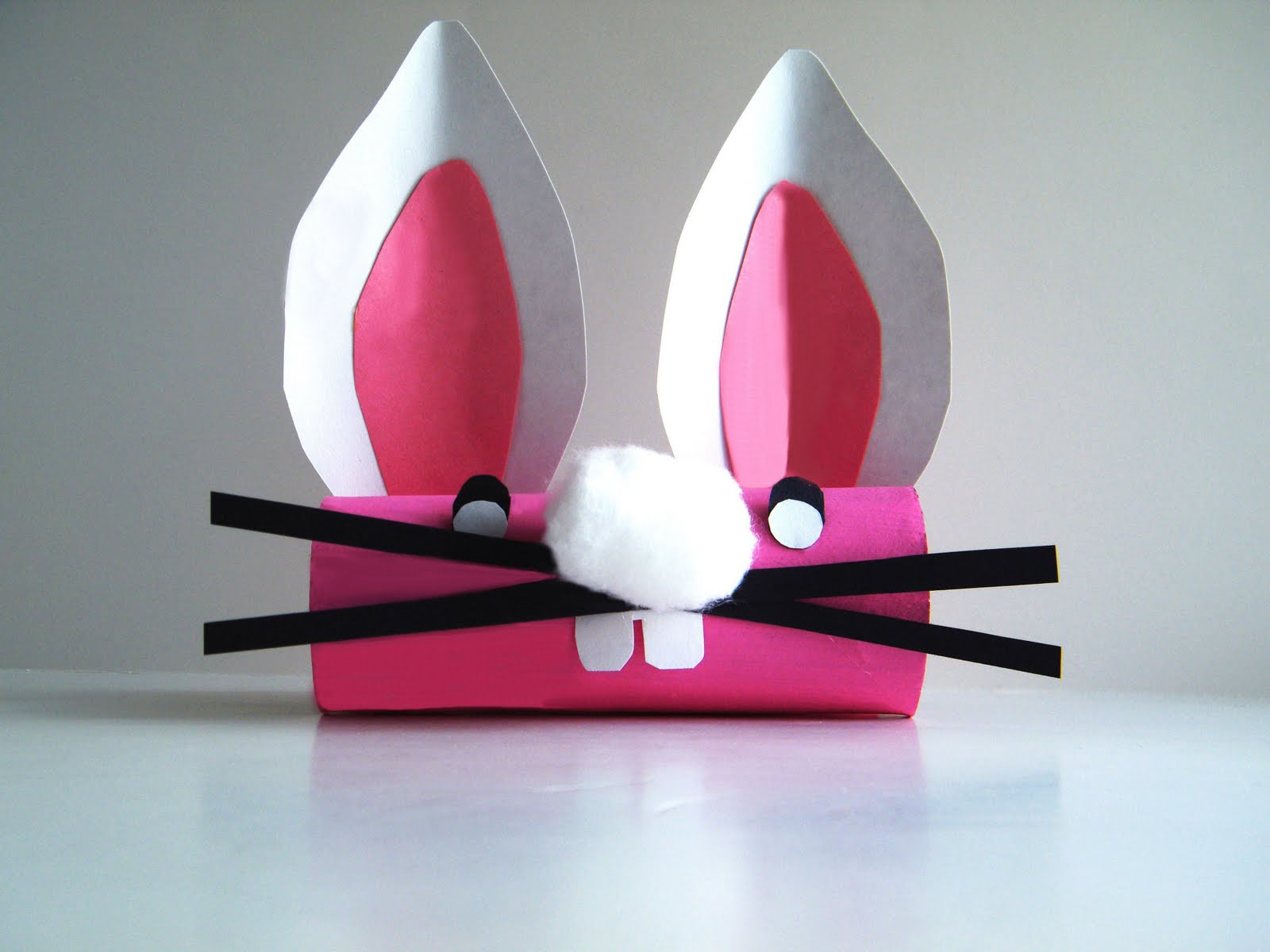 Preschool Crafts for Kids*: Easter Bunny Face Toilet Paper ...