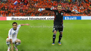Imagine cu echipa Romaniei la Euro 2008