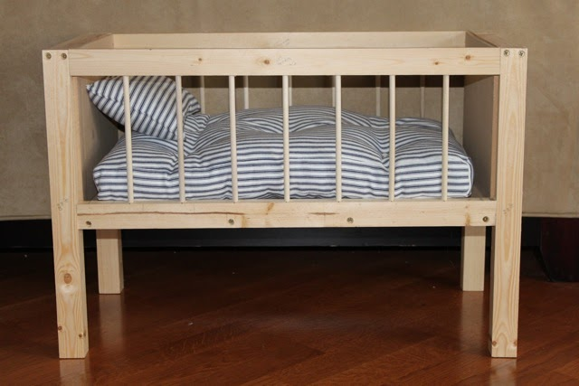 MADE Pieces For Reese Baby Doll Crib
