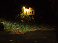 Shirakawa Motel sign