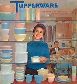 retro tupperware
