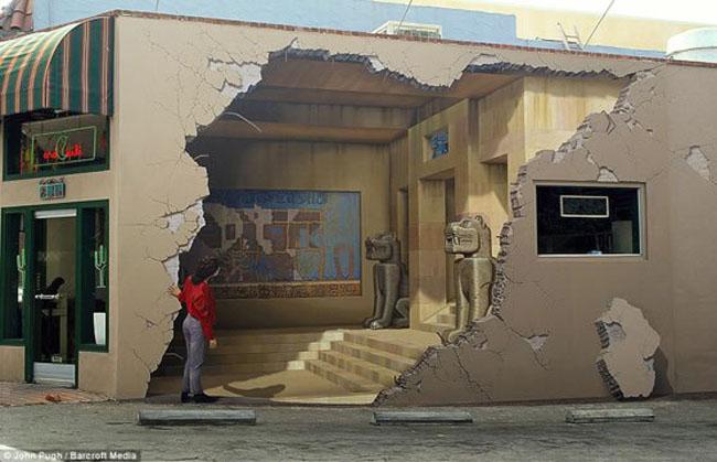 Keren Luar Biasa: Gambar-Gambar Unik Graffiti 3D Pada Tembok