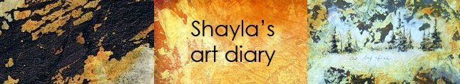 Diary of Artist Shayla Perreault Newcomb