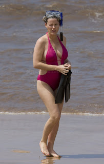 Kathleen robertson pregnant bikini consider