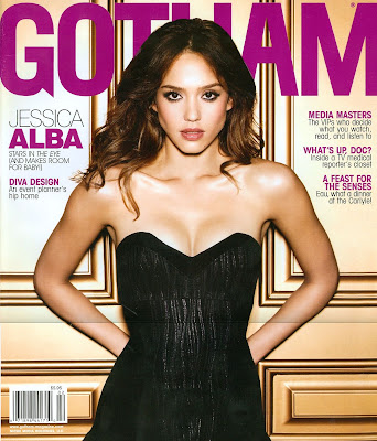 Jessica Alba Gotham Magazine February 2008 Cover