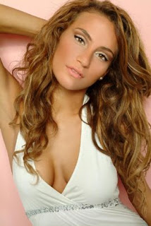 Halima Chehaima - Miss World Belgium 2007