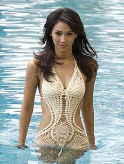 Kamidia Radisti - Miss World Indonesia 2007