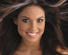 Jennifer Guevara Campos - Miss World Puerto Rico 2007 - Semi-Finalists Miss World