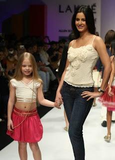 Katrina Kaif on the Modeling Ramp