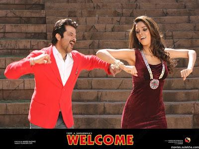 Mallika Sherawat, Anil Kapoor in Welcome Film 2007