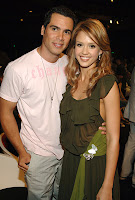 Jessica Alba with Cash Warren