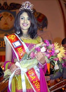 Richa Gangopadhyay - Miss India USA 2007