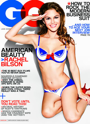 Rachel Bilson GQ Magazine February 2008 Cover Girl