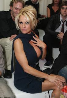 Pamela Anderson Lingerie Line Launch