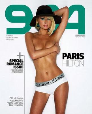 Paris Hilton on 944 Magazine Cover - February 2008 Issue
