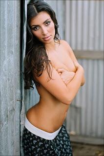 Kim Kardashian for Travis Barker's Famous Stars & Straps Clothing Line
