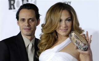 Jennifer Lopez with Husband Marc Anthony