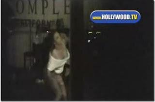 Britney Spears Wardrobe Malfunction