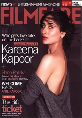 Kareena Kapoor - Filmfare Cover February 2008 Issue