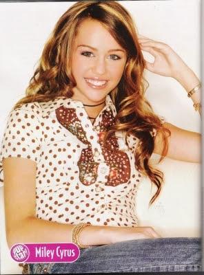 Miley Cyrus - MySpace Bikini Photos Pictures Scandal