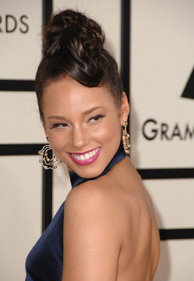 Alicia Keys at 50th Grammy Awards 2008