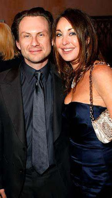 Tara Mellon and Boyfriend Christian Slater