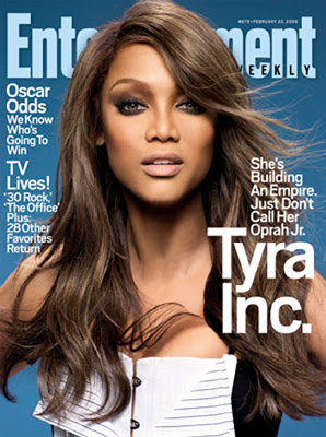 Tyra Banks Entertainment Weekly February 2008