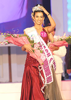 Shagun Sarabhai - Miss India Worldwide India 2008