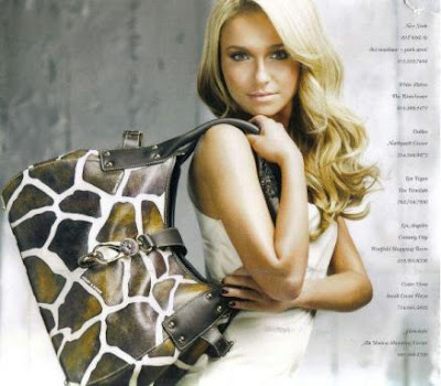 Hayden Panettiere Launches her Bag Collection
