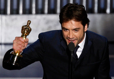 Oscars 2008 Best Supporting Actor - Javier Bardem