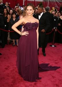 Jessica Alba at 2008 Academy Awards