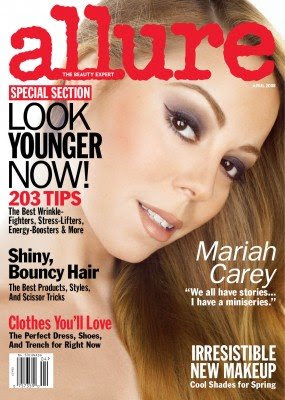 Mariah Carey Allure Magazine Cover