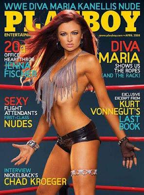 Maria Kanellis Playboy Magazine April 2008 Cover