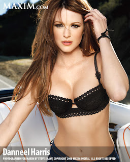 Danneel Harris Maxim Magazine April 2008 Photo Shoot