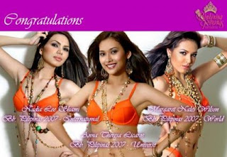 Miss Philippines 2007 Winners