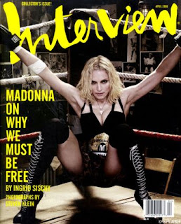 Madonna Interview Magazine April 2008 Cover