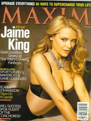 Jaime King Maxim Magazine April 2008 Cover