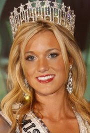 Casandra Tressler - Miss USA 2008 Contestant Maryland