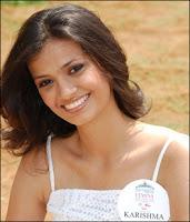 Karishma Gupte - Miss India 2008 Contestant
