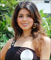 Malavika Rane - Miss India 2008 Contestant