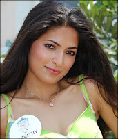 Parvathy Omanakuttan - Miss India 2008 Contestant