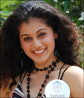 Tapasee Pannu - Miss India 2008 Contestant